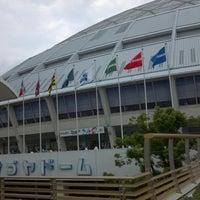 Photo taken at Nagoya Dome by Masahiro N. on 7/13/2012