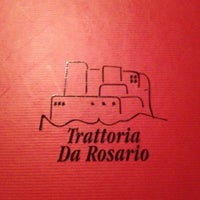 Photo taken at Trattoria da Rosario by Roberto C. on 8/22/2012