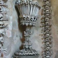 Photo taken at Sedlec Ossuary by Barbara N. on 5/24/2012