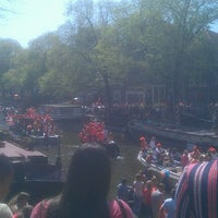 Photo taken at Prinsengracht by Roger B. on 4/30/2012