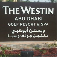 Photo taken at The Westin Abu Dhabi Golf Resort & Spa by Meismanto D. on 7/20/2012