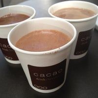 Photo taken at Cacao Drink Chocolate by Nick D. on 8/23/2012