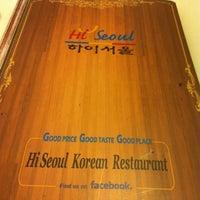 Photo taken at Hi Seoul Korean Fusion Foods by Fei on 8/11/2012