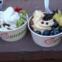 Photo taken at Pinkberry by Kushal S. on 3/11/2012