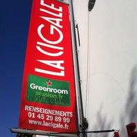 Photo prise au La Cigale par The Talent B. le4/23/2012