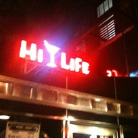Photo taken at Hi-Life Restaurant & Lounge by CAESAR D. on 4/27/2012