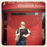 photo taken at elizabeth arden red door spa by j damany d on 6