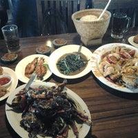 Photo taken at Pondok Laguna Resto by Mega R. on 9/11/2012