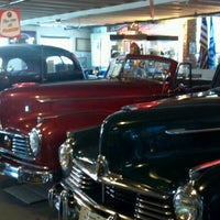 Photo taken at Miller Motors Hudson Auto Museum by Suzanne M. on 7/17/2012