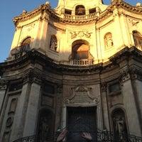 Photo taken at Chiesa di San Placido by Ulyana K. on 7/30/2012