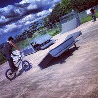 Photo taken at Frackville Memorial Park by Troy on 8/18/2012