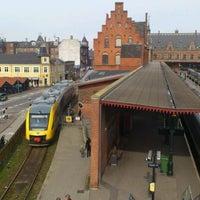 Photo taken at Helsingør Station by Jess W. on 4/12/2012