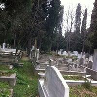 Photo taken at Feriköy İslam Mezarlığı by Onur Y. on 3/11/2012