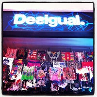 Photo taken at Desigual by Rina H. on 5/3/2012