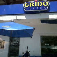 Photo taken at Grido by Facundo D. on 2/7/2012