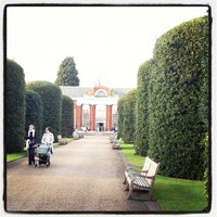 Photo taken at Orangery at Kensington Palace by Craig C. on 3/20/2012