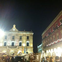 Photo taken at Plaza Mayor by Adrian S. on 8/17/2012