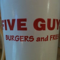 Photo taken at Five Guys by Mel H. on 7/9/2012