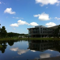 Photo taken at Coggin College of Business by Matthew L. on 7/11/2012