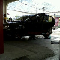 Photo taken at Car Wash Ta Chong (Mike) by fendy m. on 7/10/2012