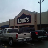 Photo taken at Lowe's Home Improvement by Tim Hobart M. on 2/4/2012