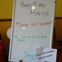 Photo taken at Amigos Tacos by George D. on 5/5/2012