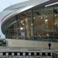 Photo taken at NASCAR Hall of Fame by mike c. on 9/6/2012