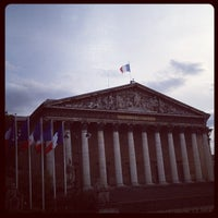 Photo taken at Assemblée Nationale by Rashed A. on 5/31/2012
