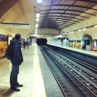 Photo taken at Metro Restauradores [AZ] by Shaheen A. on 3/2/2012