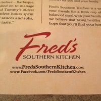 Photo taken at Fred's Market Restaurant by Karen B. on 4/26/2012