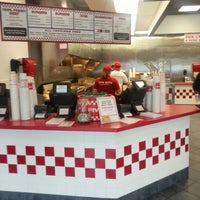 Photo taken at Five Guys by Joshua on 7/15/2012
