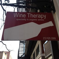 Photo taken at Wine Therapy by Kirsy on 4/21/2012
