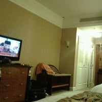 Photo taken at Hotel JW Marriot Banda Room by Gibran R. on 2/28/2012