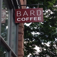 Photo taken at Bard Coffee by Joshua on 6/28/2012