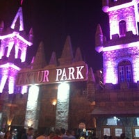 Photo taken at Aktur Lunapark by GÖKÇE on 8/22/2012