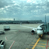 Photo taken at Gate 256 by Audunn J. on 5/27/2012