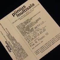4/27/2012에 Katrin님이 Cinema Plinius Multisala에서 찍은 사진