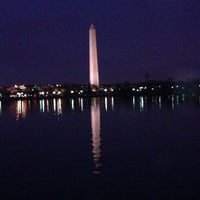 Photo taken at Tidal Basin by Cody B. on 3/12/2012