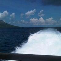 Photo taken at Pelabuhan Tagulandang by Jef D. on 7/10/2012