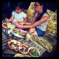Photo taken at Landwer Café by LinkTree on 6/16/2012