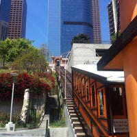 Photo taken at Angels Flight Railway by Andrew W. on 4/28/2012