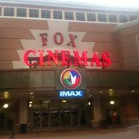 Photo taken at Regal Cinemas Fox 16 & IMAX by Rebecca C. on 7/8/2012