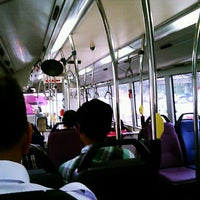 Photo taken at SMRT Buses: Bus 858 by rizzo f. on 7/17/2012