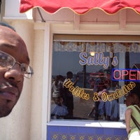 Photo taken at Sally's Waffle Shop by Jerome O. on 5/6/2012