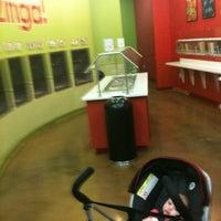 Photo taken at Zinga Frozen Yogurt by Evan R. on 6/3/2012