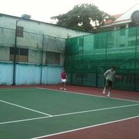 Photo taken at K99 Tennis Court by Dragon on 3/10/2012