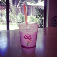 Photo taken at Jamba Juice Pleasanton by Kathleen H. on 8/17/2012