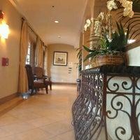 Photo taken at Hilton Garden Inn by Ashley S. on 4/2/2012