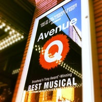 Photo taken at Avenue Q by Romain S. on 5/20/2012