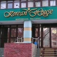 Photo taken at Korean House by Ruslan R. on 3/23/2012